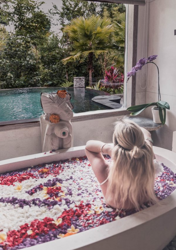 Behind the scenes of a hotel collaboration with Pangea Dreams: The Udaya Resorts & Spa, Bali.