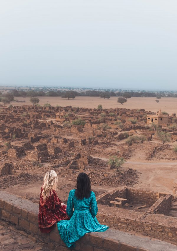Most Instagrammable places in Jaisalmer, India.