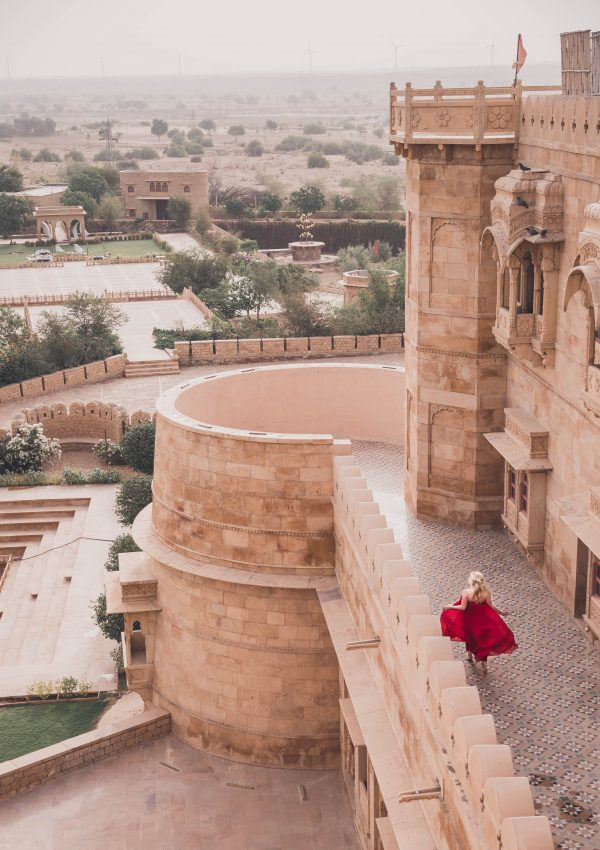 Where to stay in Jaisalmer, India: Suryagarh Jaisalmer.