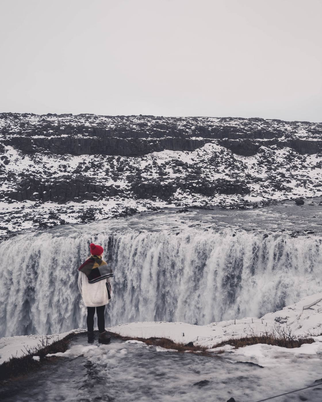 The best waterfalls to visit in Iceland during winter.