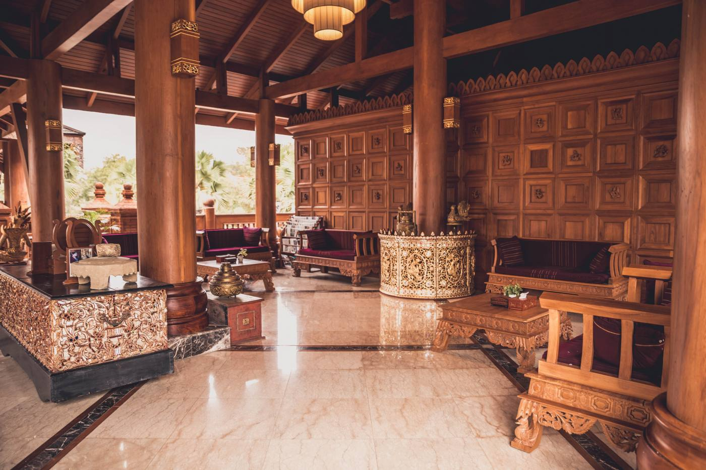 Where to stay in Bagan, Myanmar: Heritage Bagan Hotel.