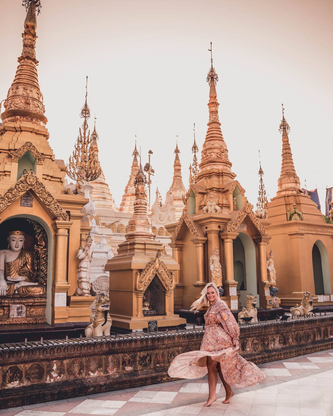The Most Instagrammable places in Yangon, Myanmar