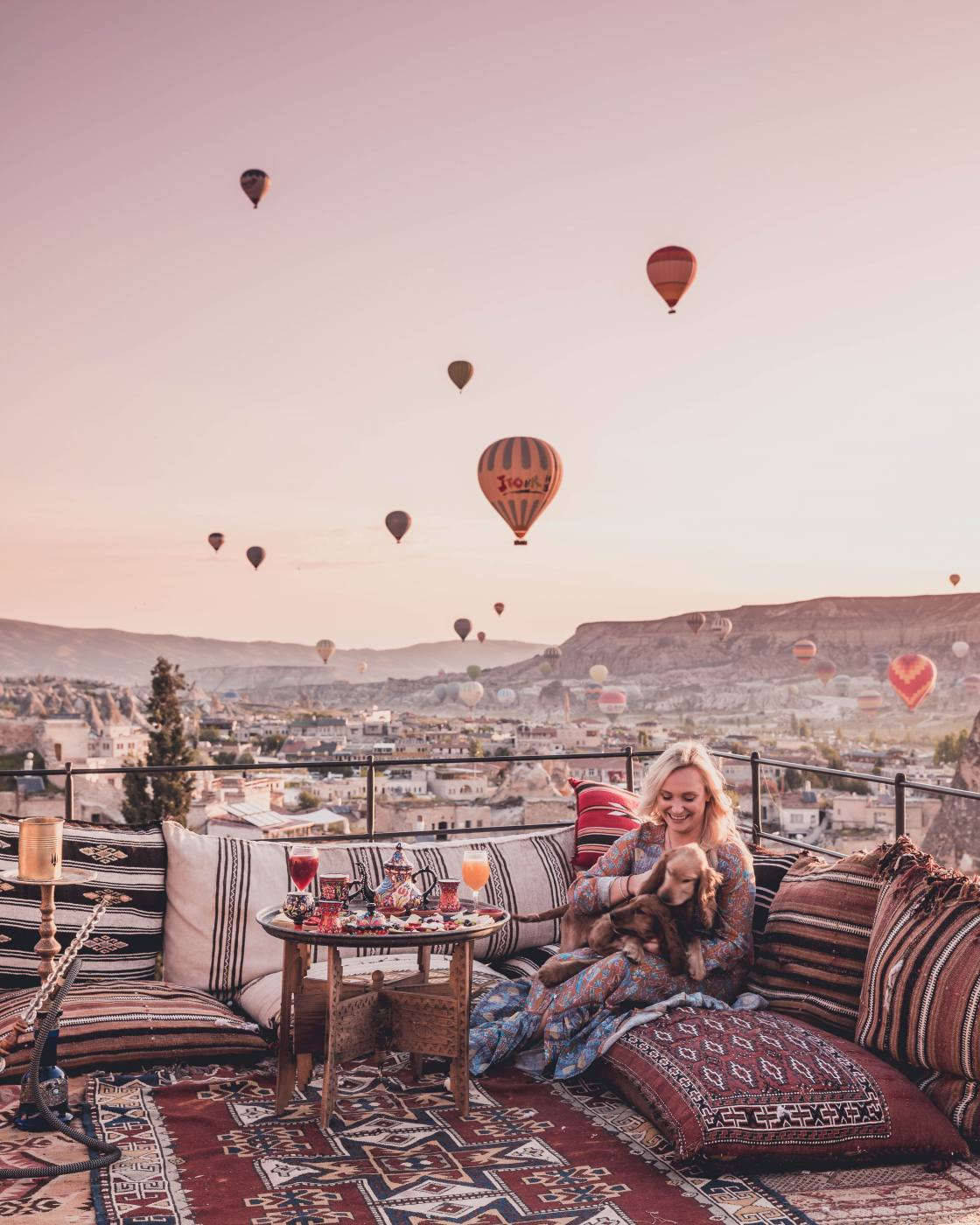 Where to stay in Cappadocia: Mithra Cave Hotel