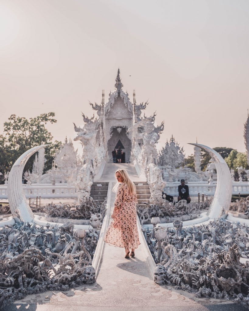 The best viewpoints from the White Temple, Chiang Rai