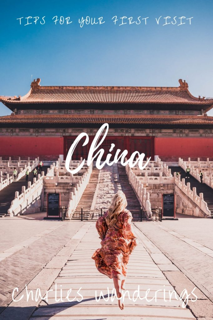 Tips for you first visit to China