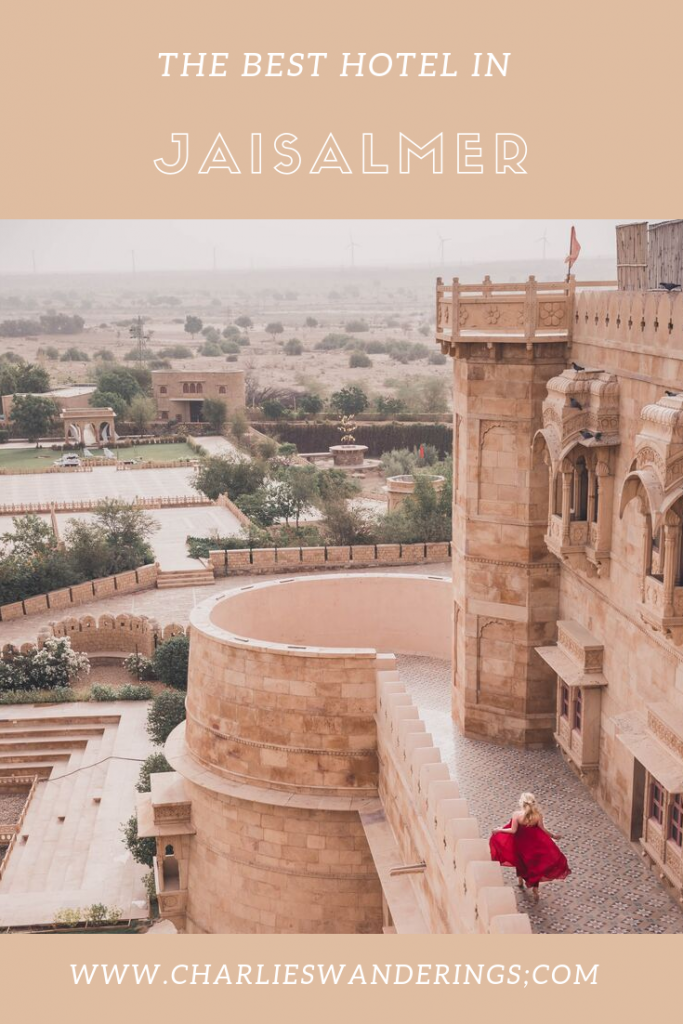 Where to stay in Jaisalmer - Suryagarh