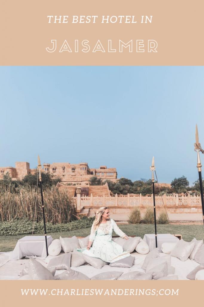 Where to stay in Jaisalmer - Suryagarh