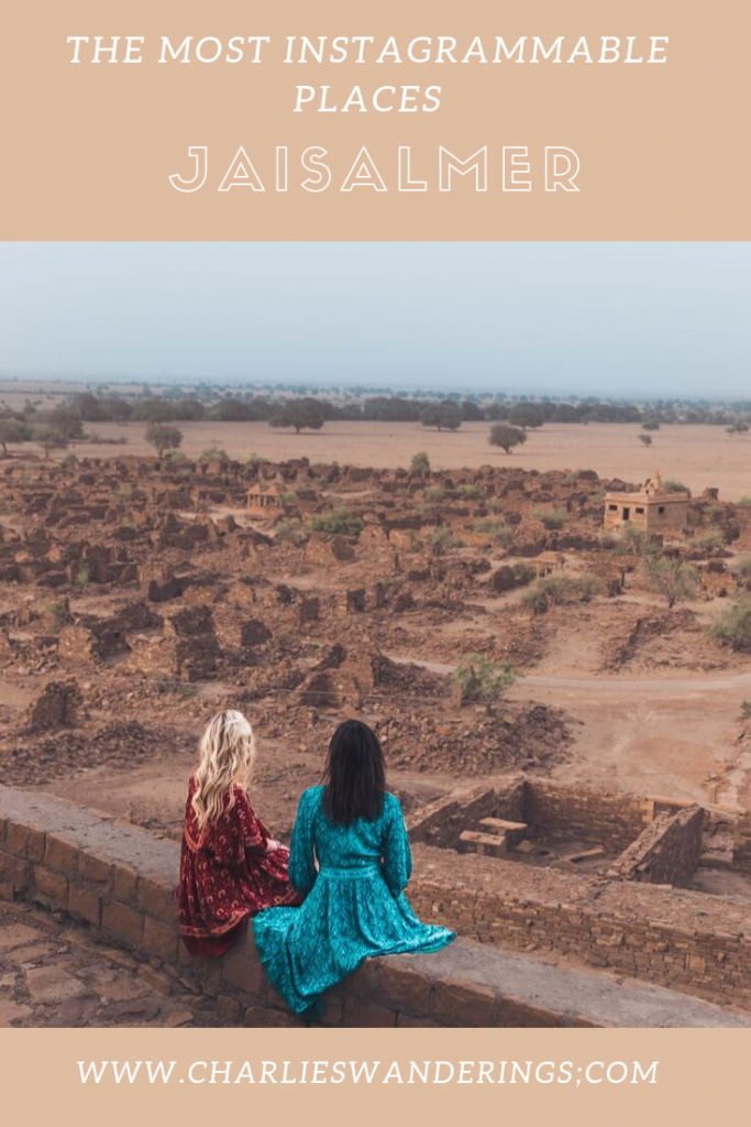 Most Instagrammable places in Jaisalmer
