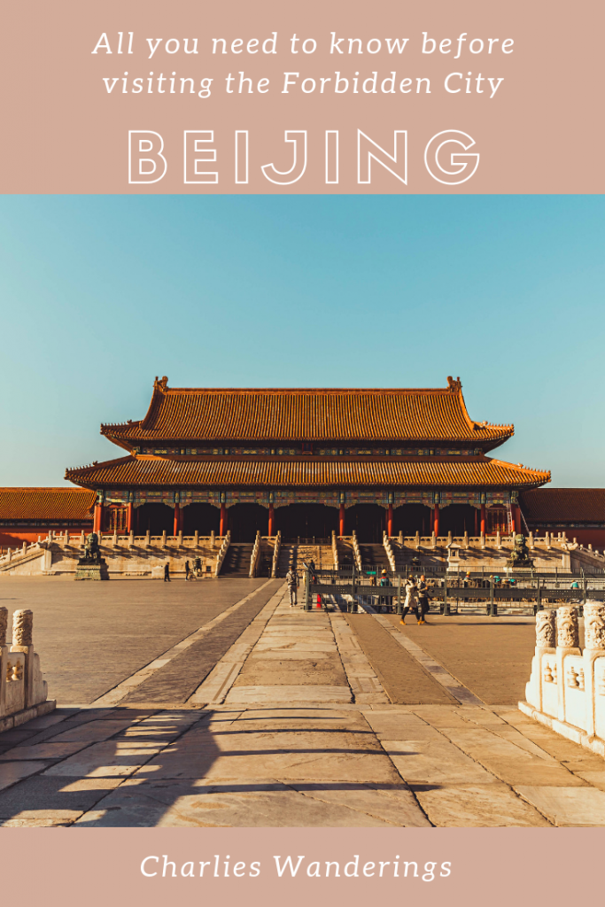All you need to know before visiting the forbidden city in Beijing
