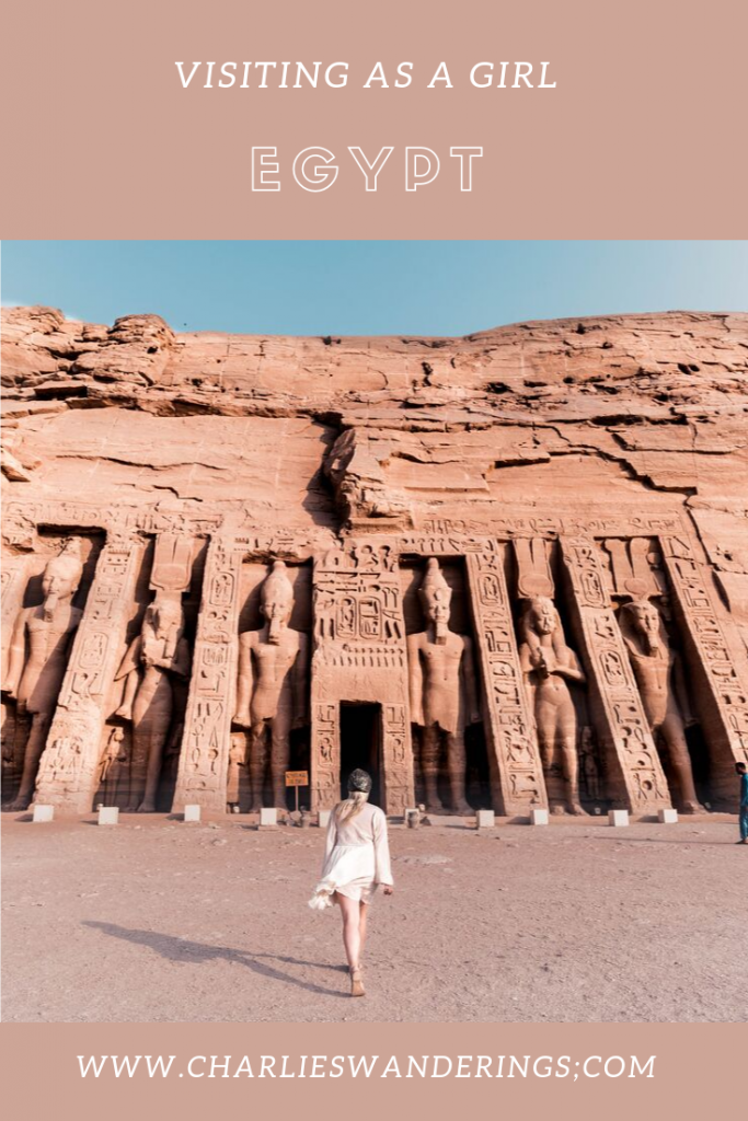 Visiting Egypt as a girl