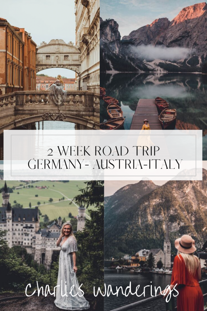 My 2 week road trip itinerary through Germany Austria and Italy