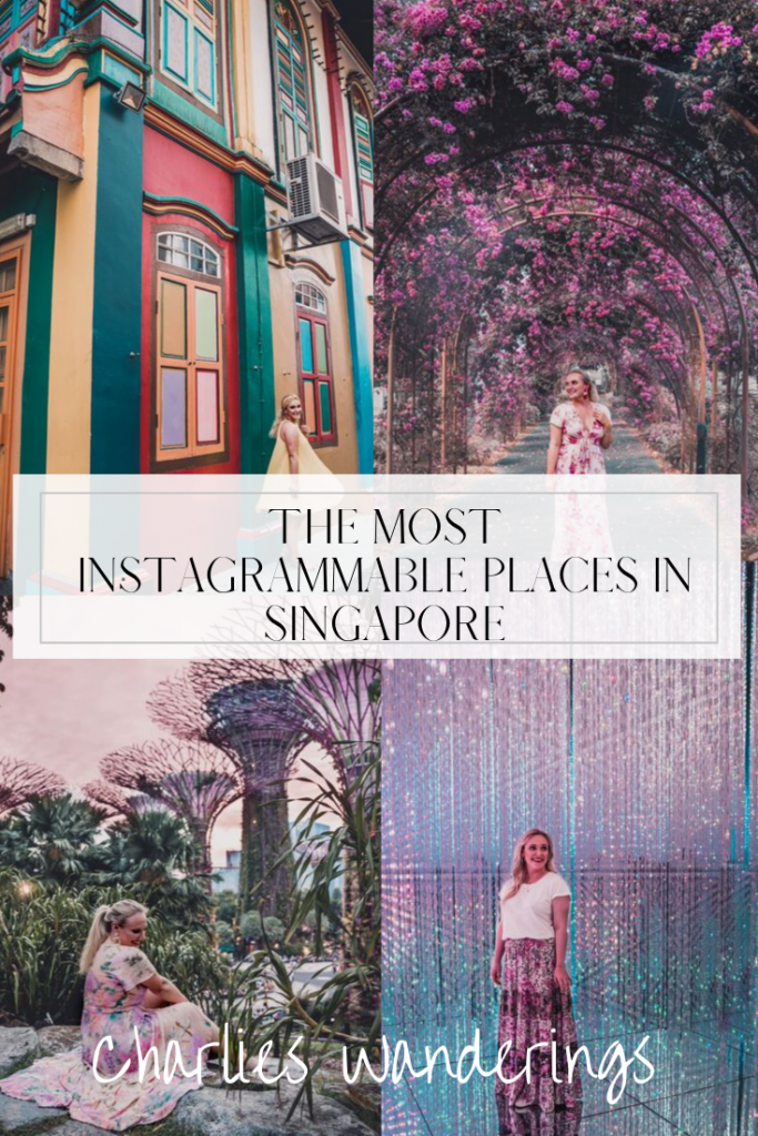 Most Instagrammable places in Singapore