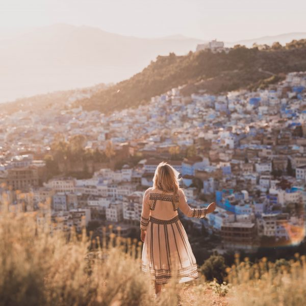 Sunset above Chefchaouen