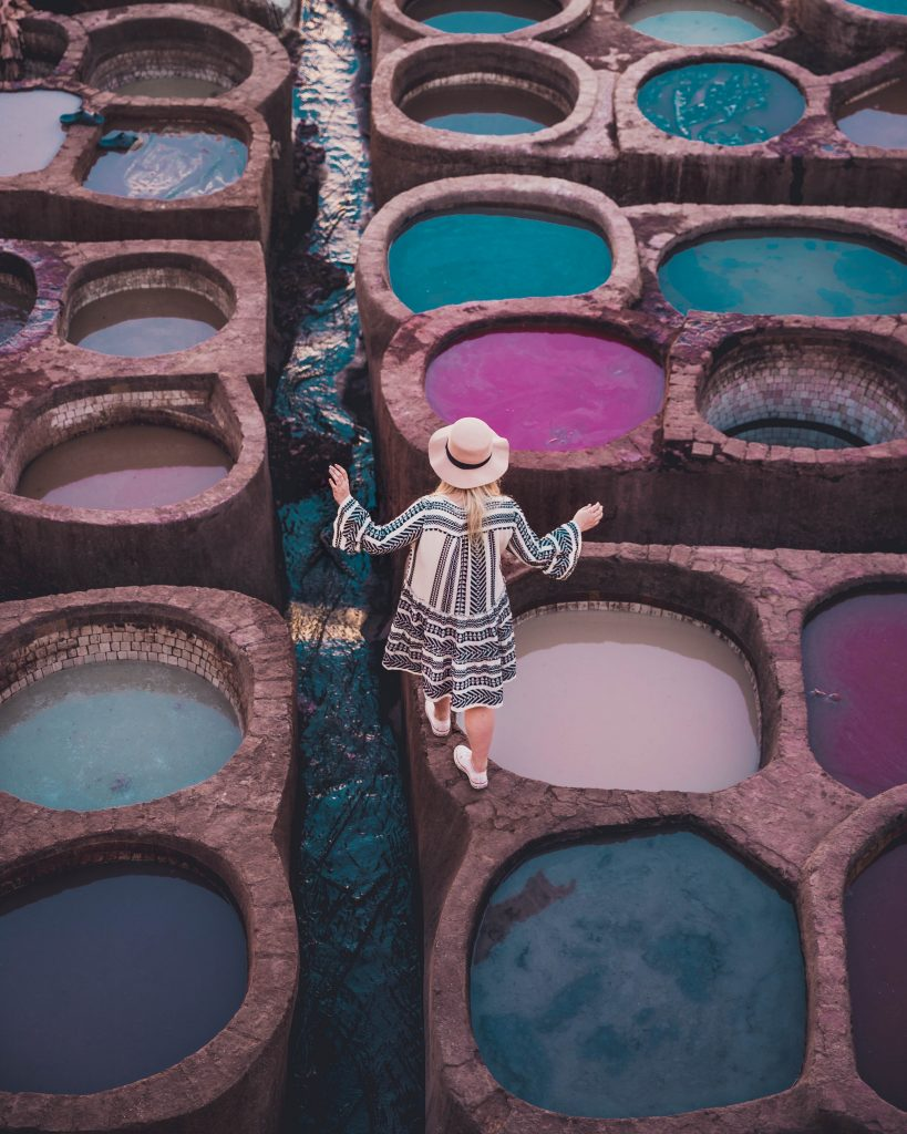 How to visit the Chouara tanneries in Fez