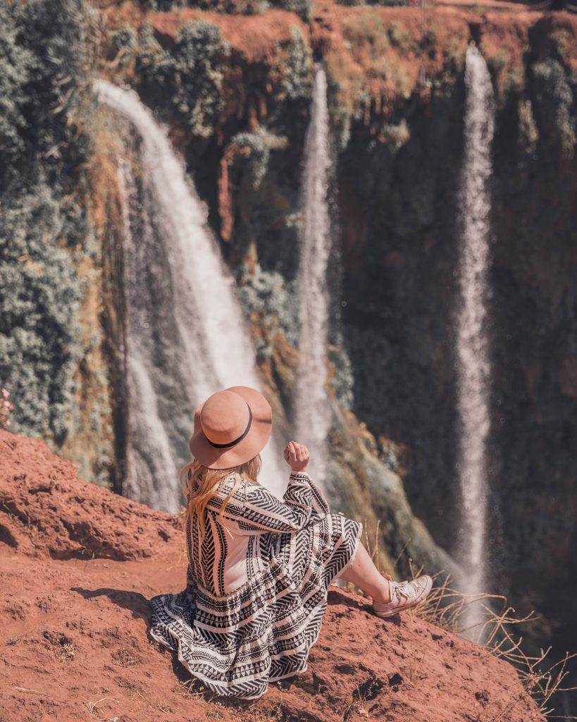 Visiting Ouzoud Waterfalls on a day trip from Marrakech