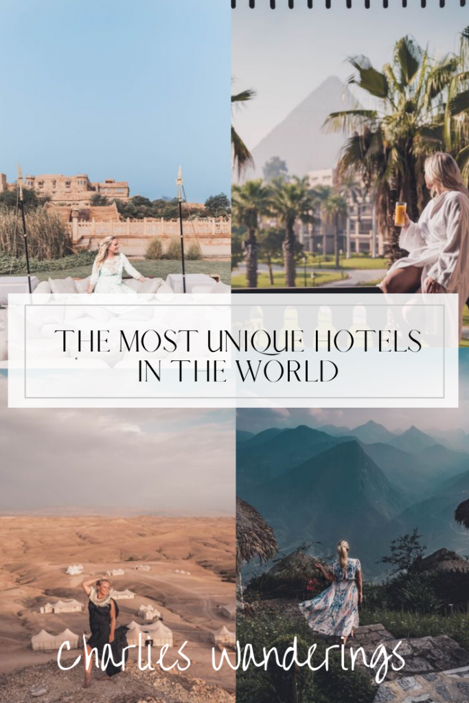 the most unique hotels in the world