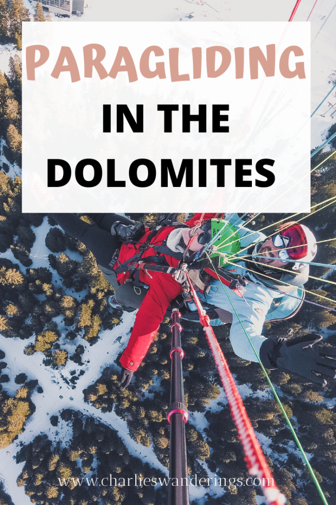 Where to go paragliding in the Dolomites