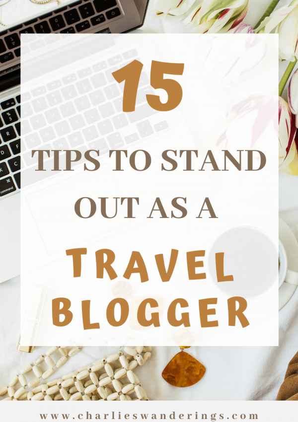 15 Tips on how to Stand Out as a Travel Blogger in 2020