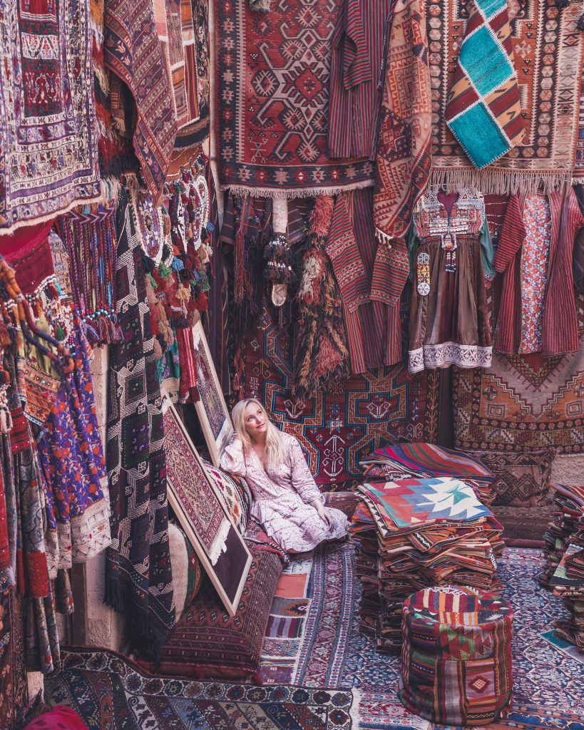 cappadocia famous carpet shop