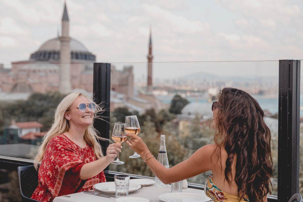 Istanbul travel, Istanbul photography, lunch Hagia Sophia