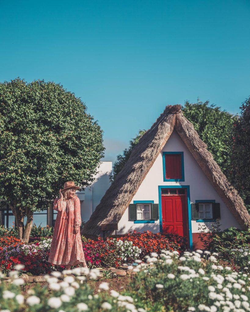 Casas Tipicas de Madeira in Santana