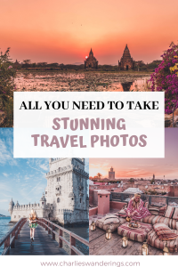 The Best Photography Gear for a Travel Blogger, How to take stunning travel photos