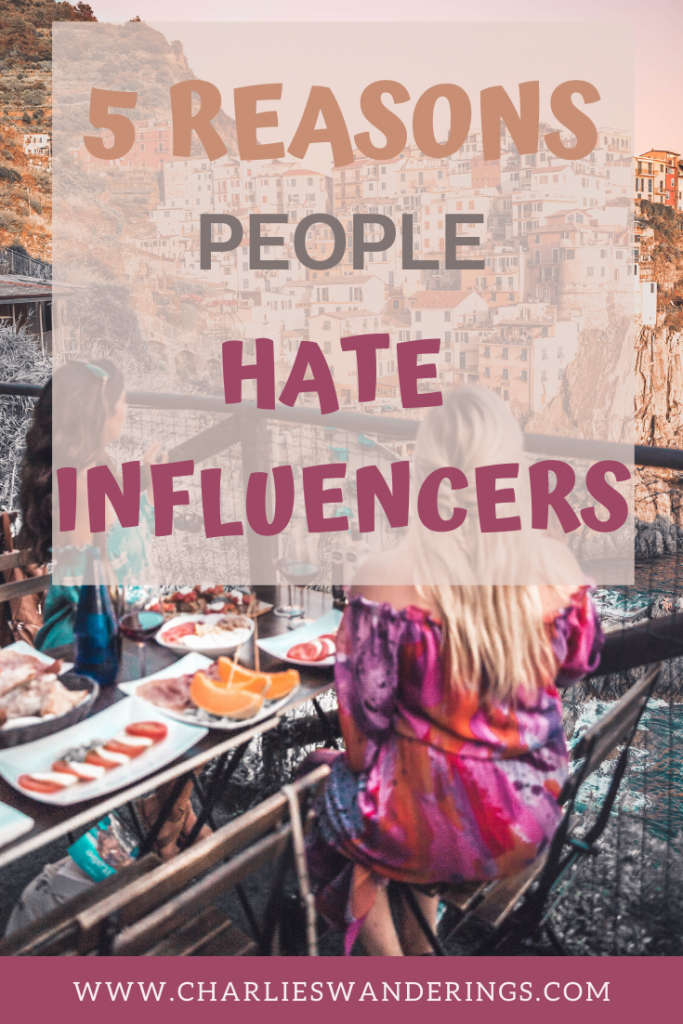 Why people hate influencers