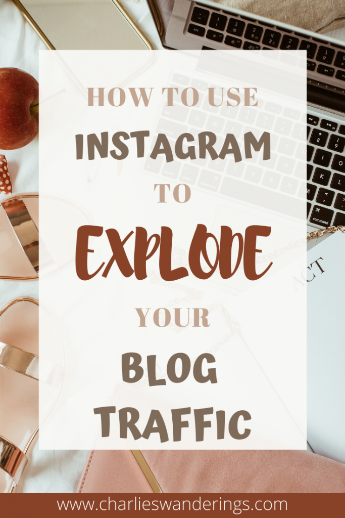 How to get better blog traffic through Instagram