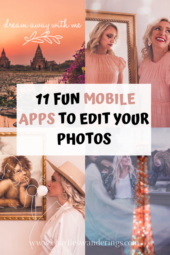Fun Mobile Apps for Editing photos