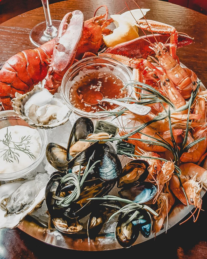 seafood in Burano