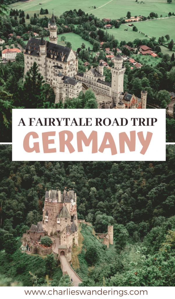 2 week road trip Europe
