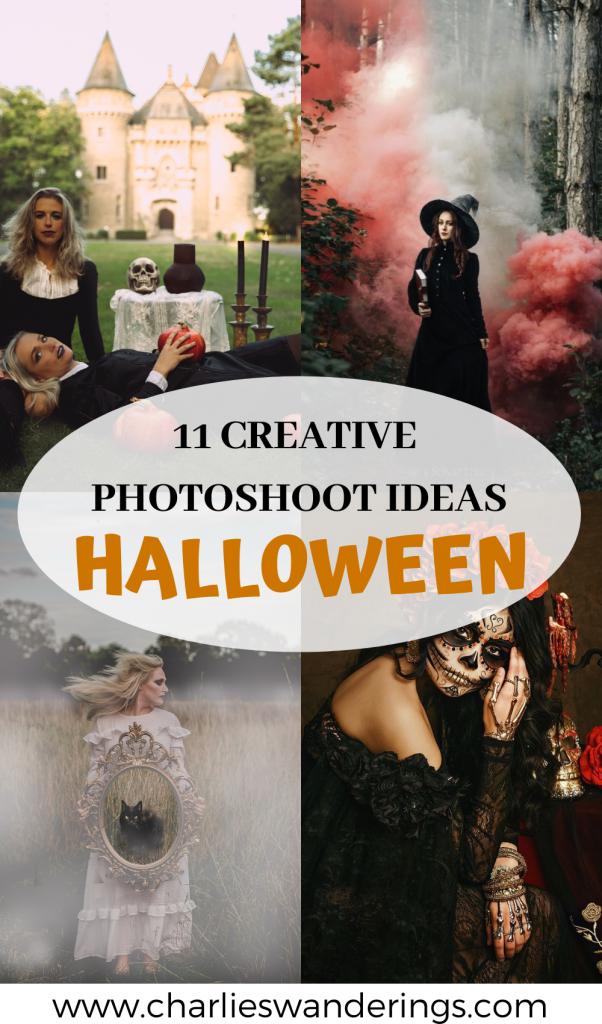 Creative Photoshoot Ideas For Halloween