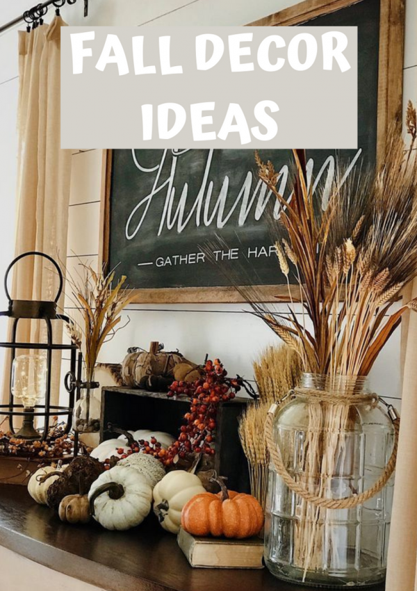 Beautiful Autumn Decorations Ideas For Indoors